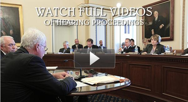 Watch Committee Hearing Videos