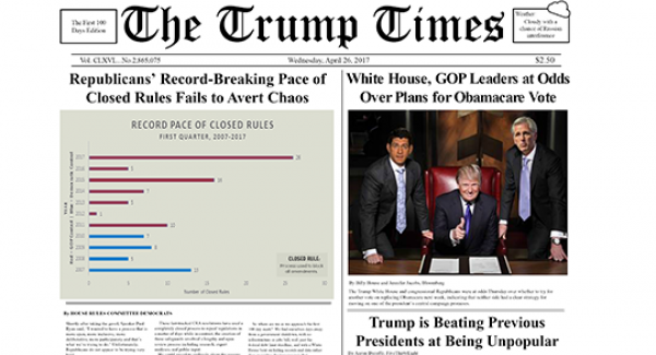 The Trump Times feature image
